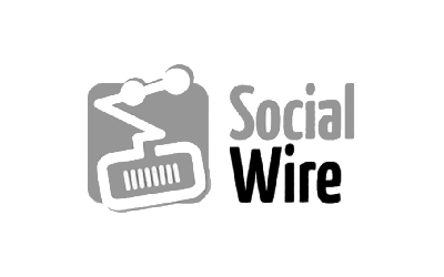 Logotipo da spin-off Social Wire