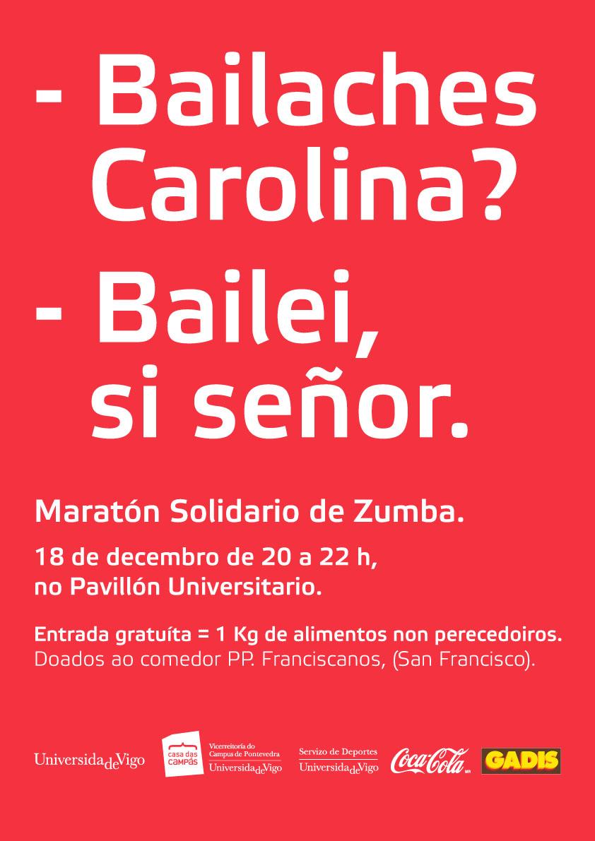 A suar por unha boa causa | Universidade de Vigo
