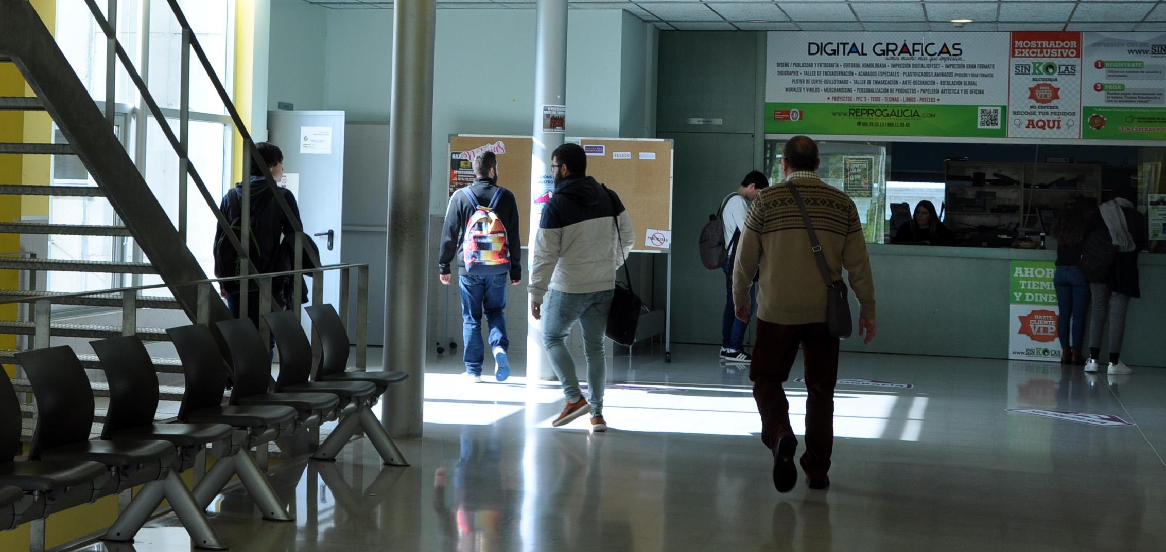 A Universidade convoca as bolsas comedor cunha contía de 500€ anuais ...