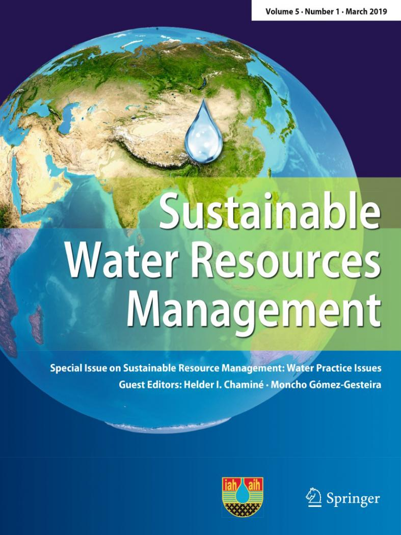 O Campus da Auga, protagonista dun número especial da revista Sustainable Water Resources Management