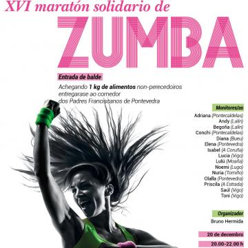 Maratón Solidario de Zumba | Universidade de Vigo