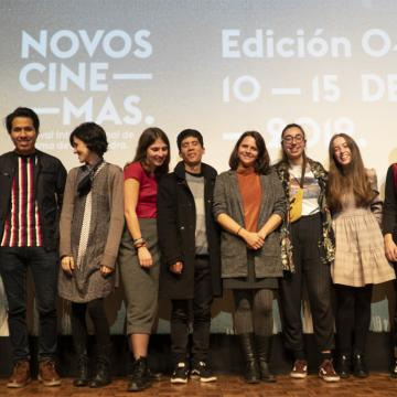Os retratos audiovisuais do alumnado levantan o pano de Novos Cinemas