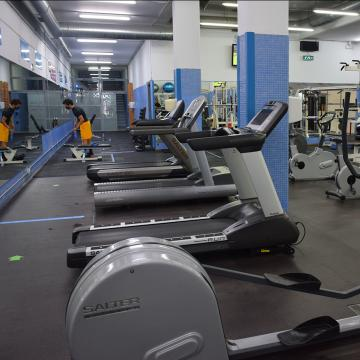 Reabren as salas cardio-fitness e multiusos dos tres campus