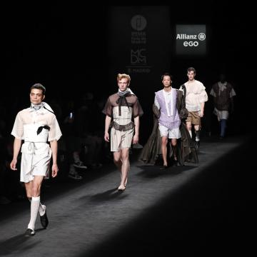 Os deseñadores formados en Esdemga brillan na Fashion Week Madrid